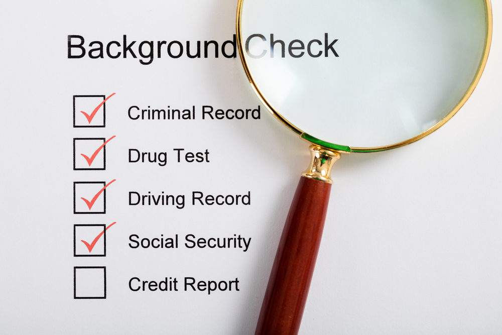 The Etiquette of Background Check